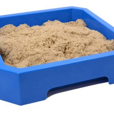 מגש כחול חול קינטי