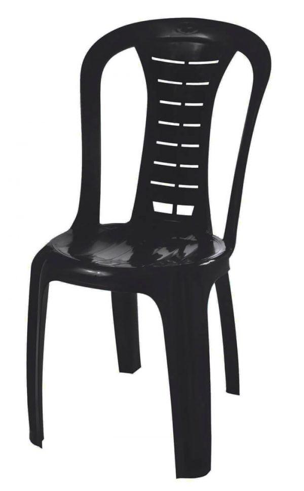 כיסא פלסטיק דוד שחור