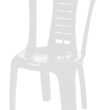כיסא פלסטיק דוד לבן