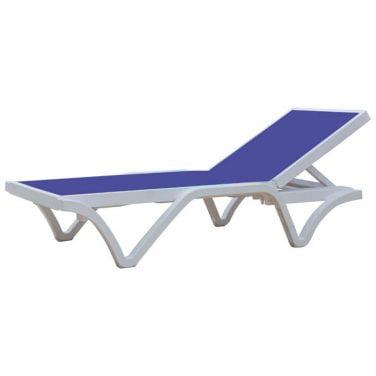 מיטת שיזוף ליעד עם בד איכותי הכולל הגנת UV,