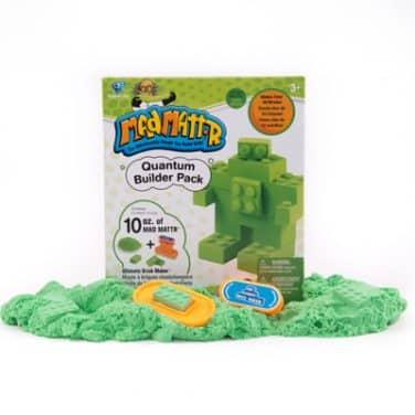 ערכת בצק קינטי ירוק+ מכשיר ליצירת קוביות