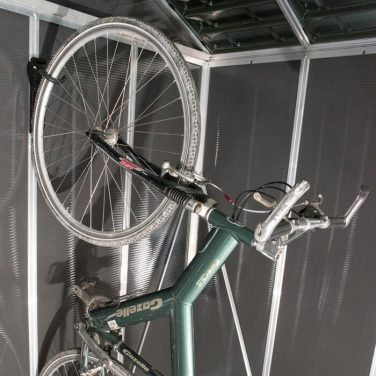 מתלה אופניים אנכי למחסן