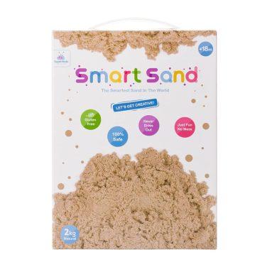 Smart Sand – חול קינטי במארז 2 קילו - צבע טבעי