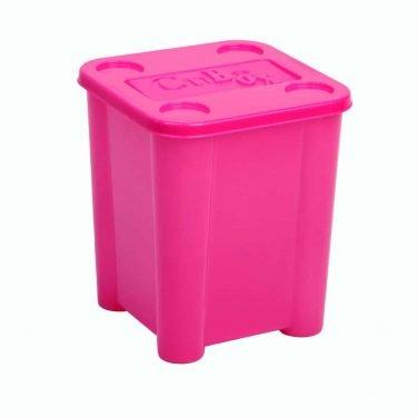 ארגז אחסון צבעוני עומד לצעצועים, אבקת כביסה