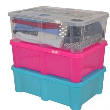 ארגז אחסון צבעוני איכותי לצעצועים