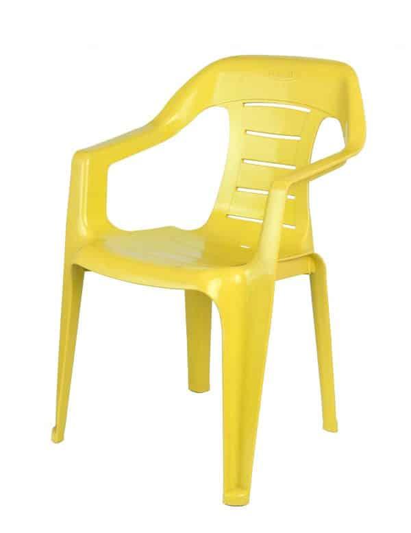 כסא כיסא ילדים ניב צהוב - כיסא פלסטיק איכותי במיוחד