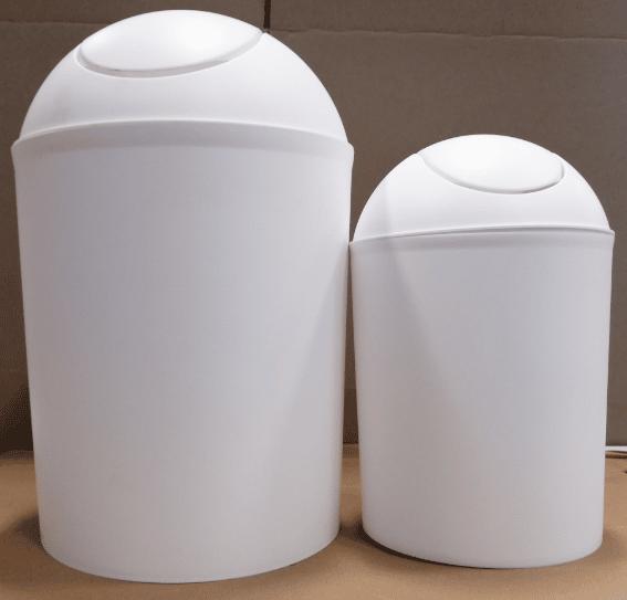פח מצחייה 12 ליטר לבן